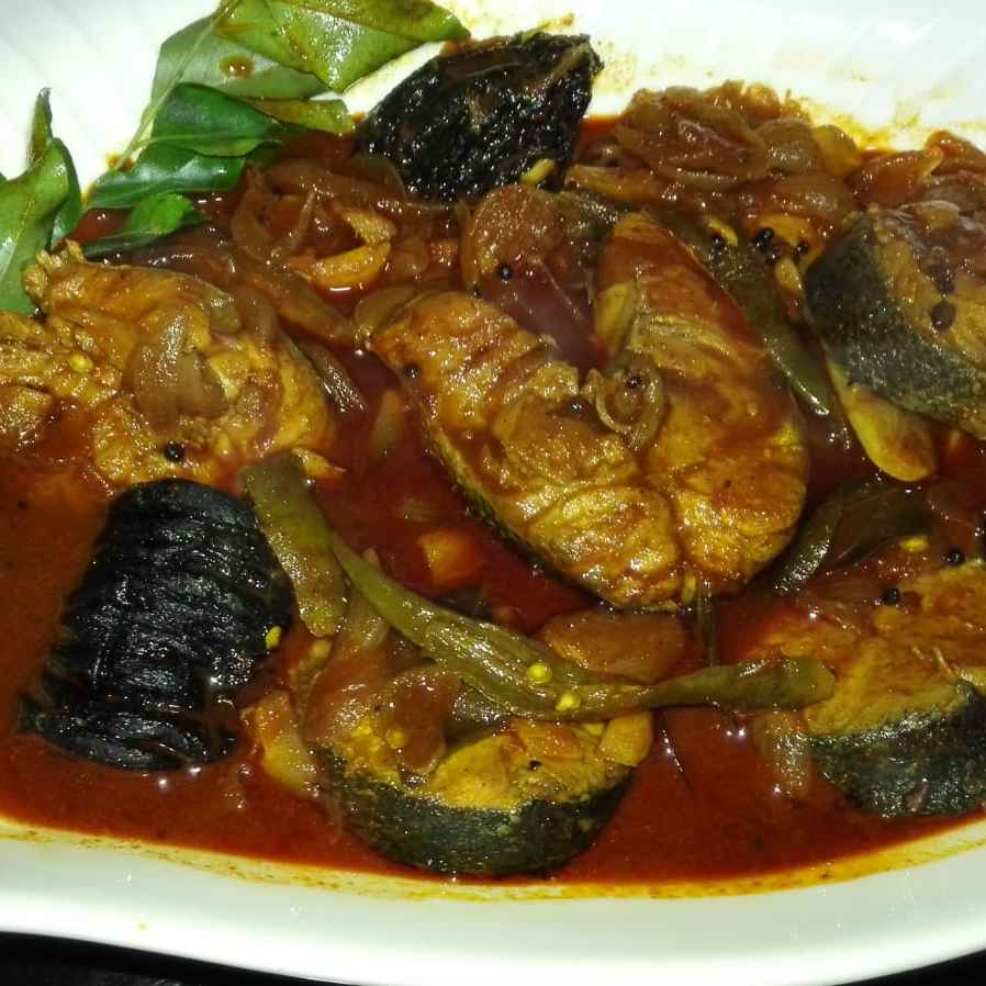 Photo of Kudampuli Fish curry by Ameena Mohideen at BetterButter