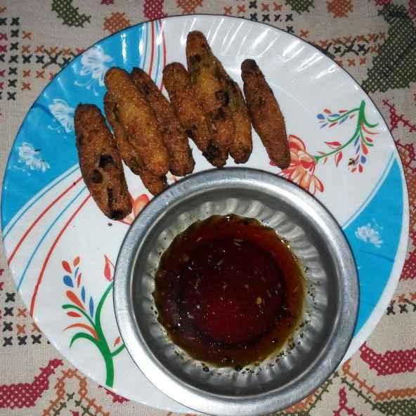 How to make সেমোলিনা  ফিঙ্গার উইথ তেতুল চাটনি।