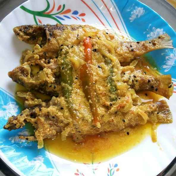 How to make Bata macher jhal