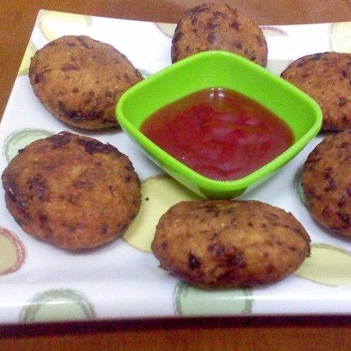 How to make Brown rice oats and cheese cutlet