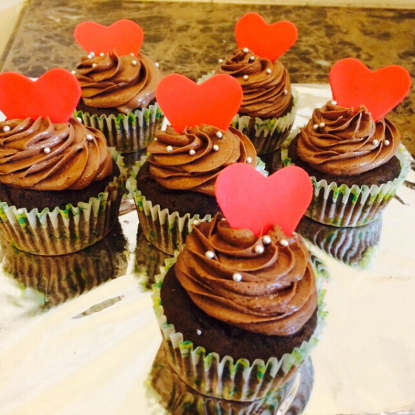 How to make Moist Nutella cupcakes