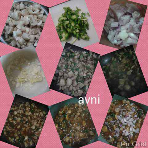Photo of Mushroom Manchurian by Avni Arora at BetterButter