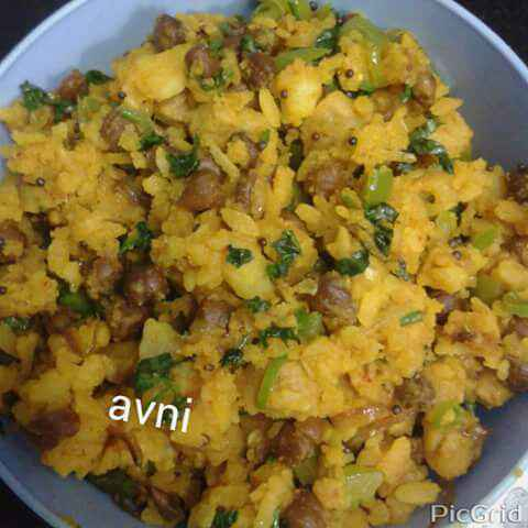 How to make Bread Poha Mix