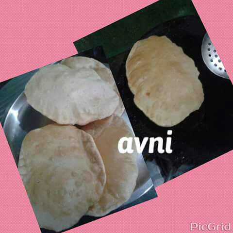 How to make Wheat Bhatura
