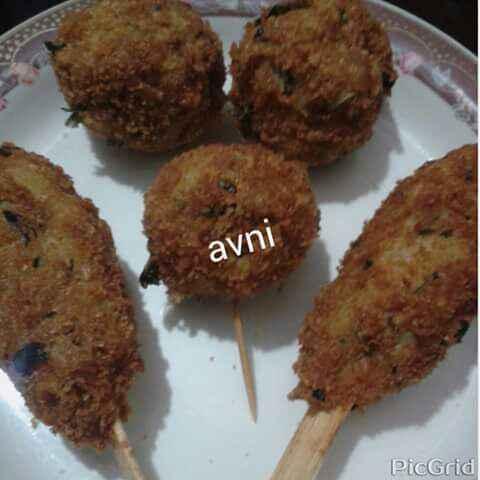 Photo of Nutri Soya Chaap or Nutri Soya Lollipops by Avni Arora at BetterButter