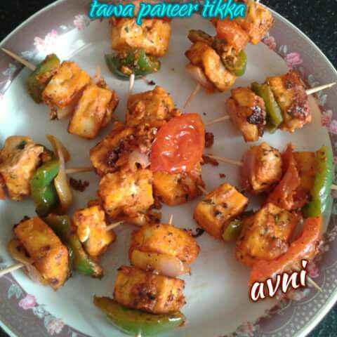 Photo of Tawa paneer tikka by Avni Arora at BetterButter