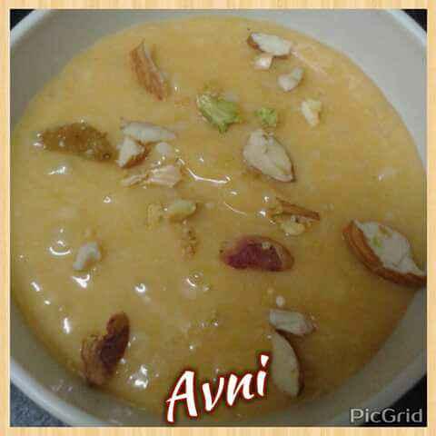 How to make Mango Sago Pudding