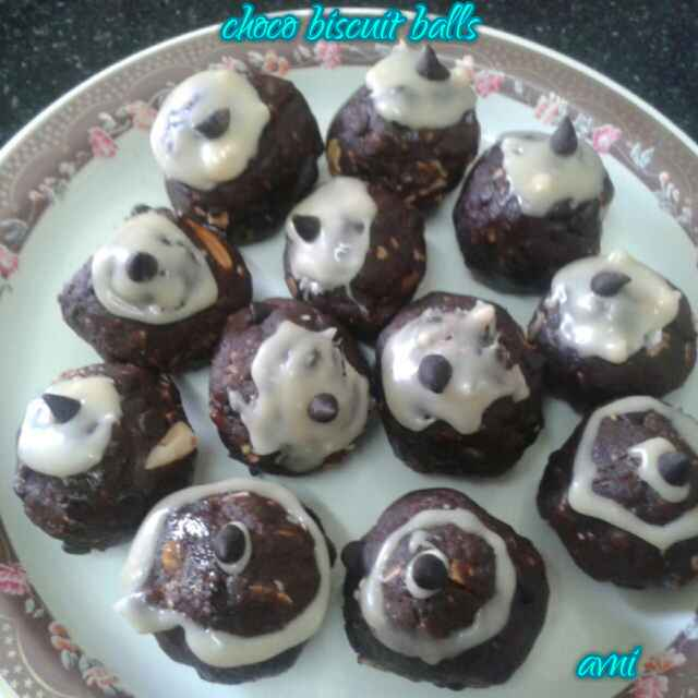 How to make Choco Biscuit Balls
