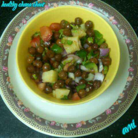 How to make Healthy Chana Chaat