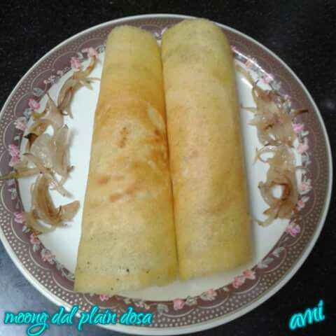 How to make Moong Dal plain dosa