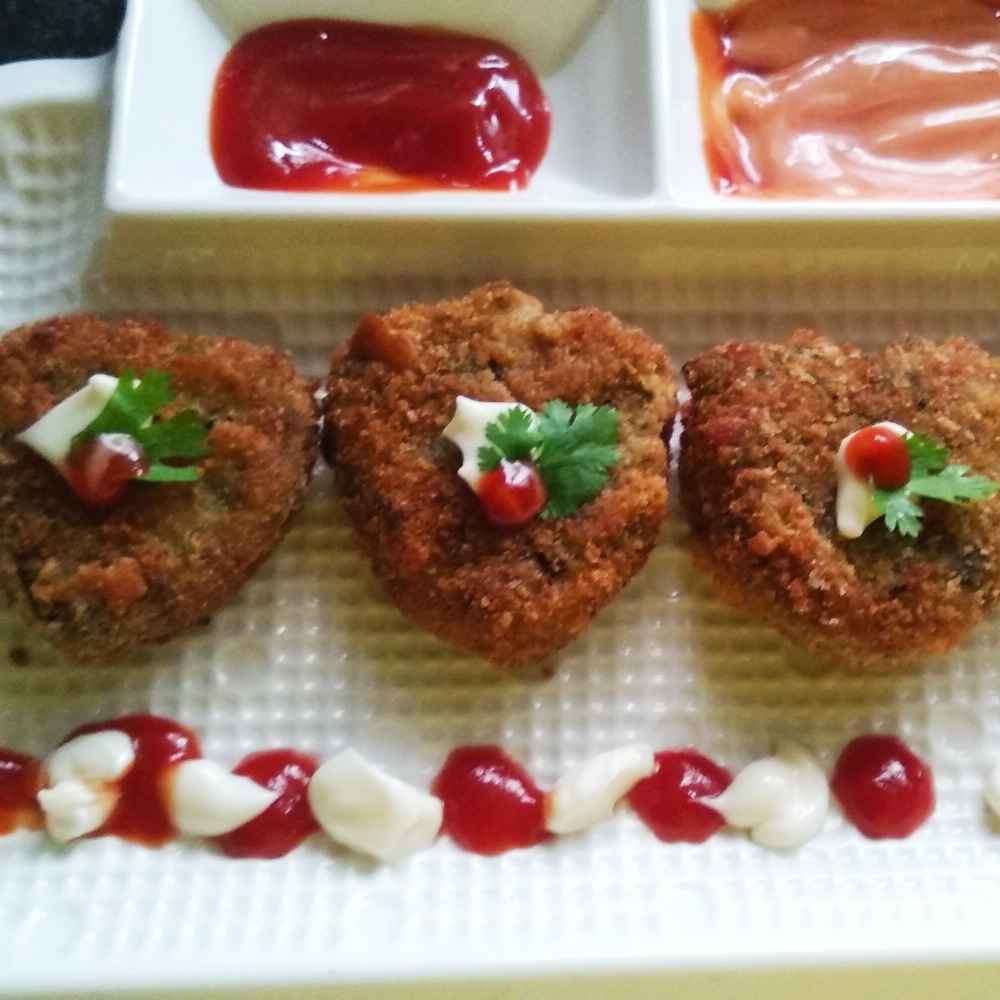 Photo of Taroi ke chhilke ke cutlets by Amita Gupta at BetterButter