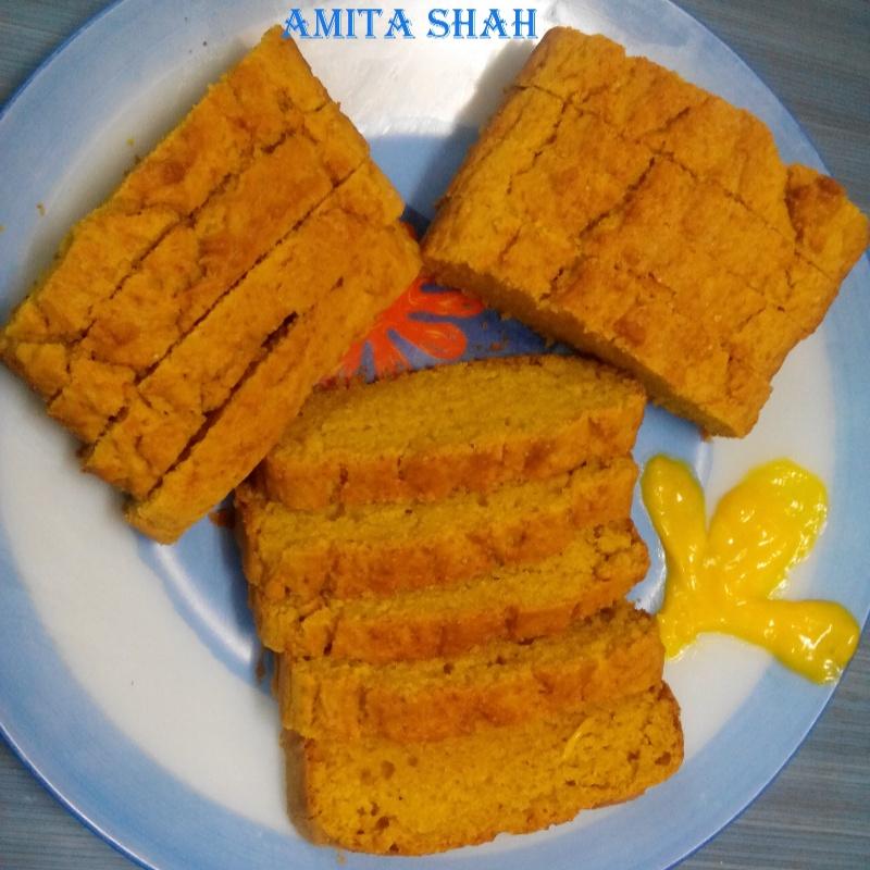 Photo of Mango Slice Cake  by Amita Shah at BetterButter