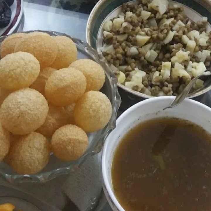 Photo of Homemade pani puri by Ammarah Adeeb Mallak at BetterButter