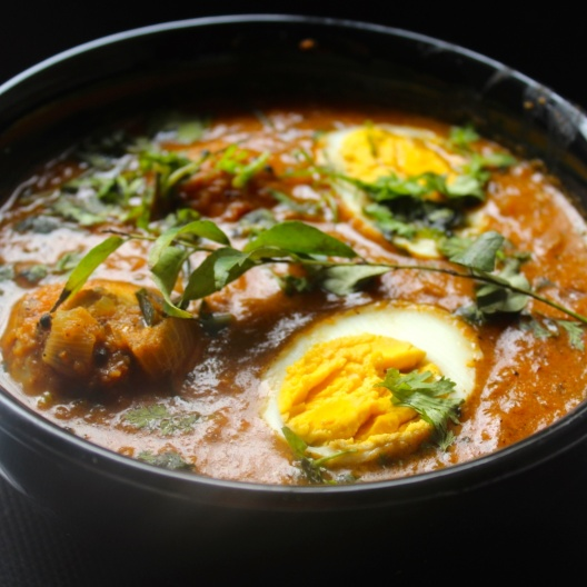 Photo of Chettinad Egg Curry (A curry using boiled eggs and delicious Chettinad Masala) by Amrita Iyer at BetterButter