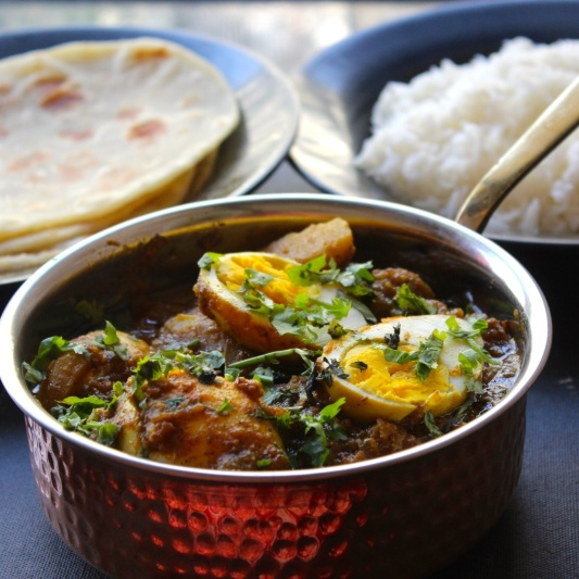 Photo of Dim Kosha (Bengali Style Egg Curry) by Amrita Iyer at BetterButter