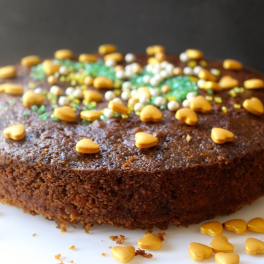 Photo of Traditional Christmas Fruit Cake by Amrita Iyer at BetterButter