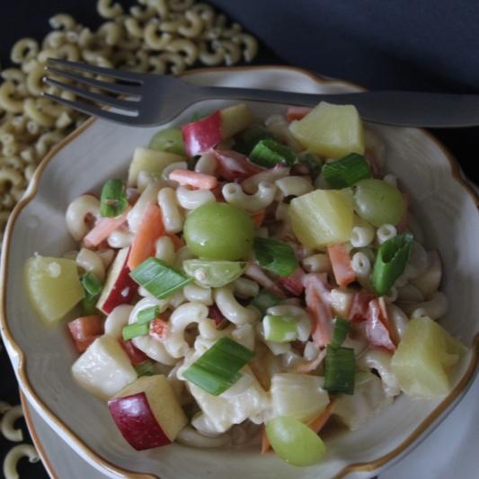 How to make Sweet Hawaiian Pasta Salad
