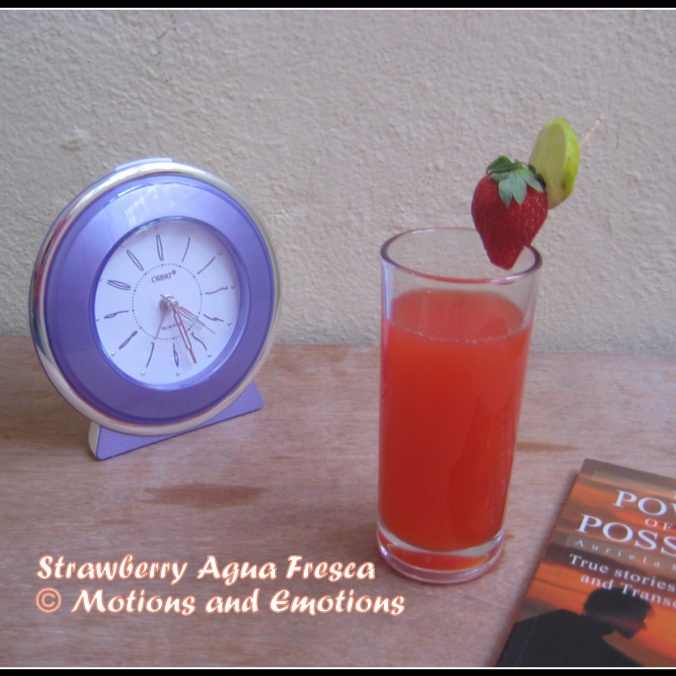 Photo of Strawberry Agua Fresca by Amrita Roy at BetterButter