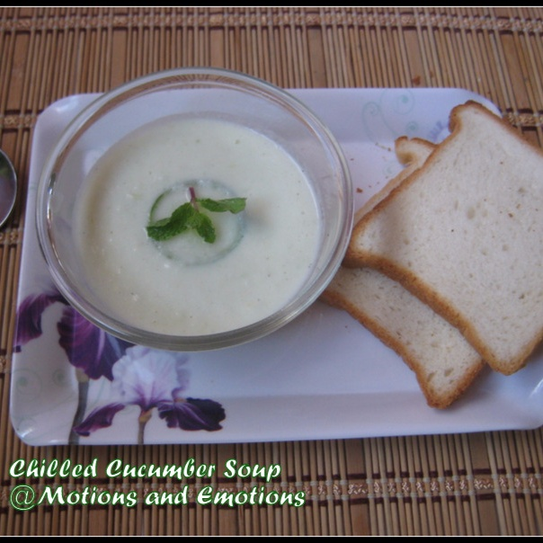 How to make Chilled Cucumber Soup