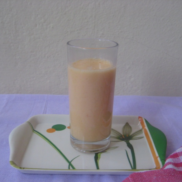 Photo of Muskmelon Smoothie by Amrita Roy at BetterButter