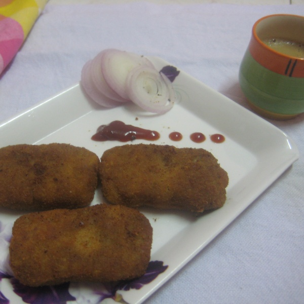 Photo of Bananas Stem Cutlet or Thor Cutlet by Amrita Roy at BetterButter