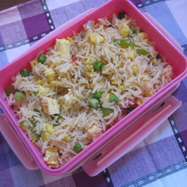 Photo of Egg Paneer Fried Rice by Amrita Roy at BetterButter