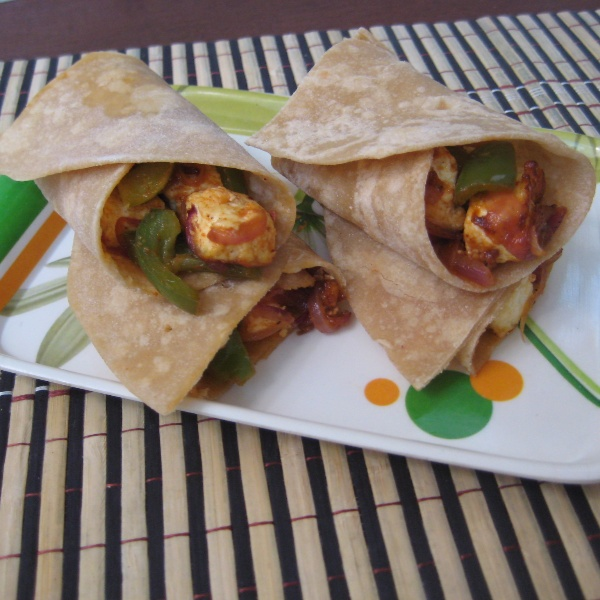 Photo of Paneer Frankie by Amrita Roy at BetterButter
