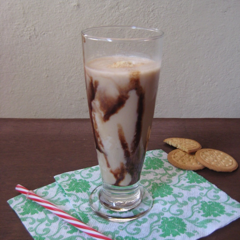 How to make Milk and Cookie Smoothie