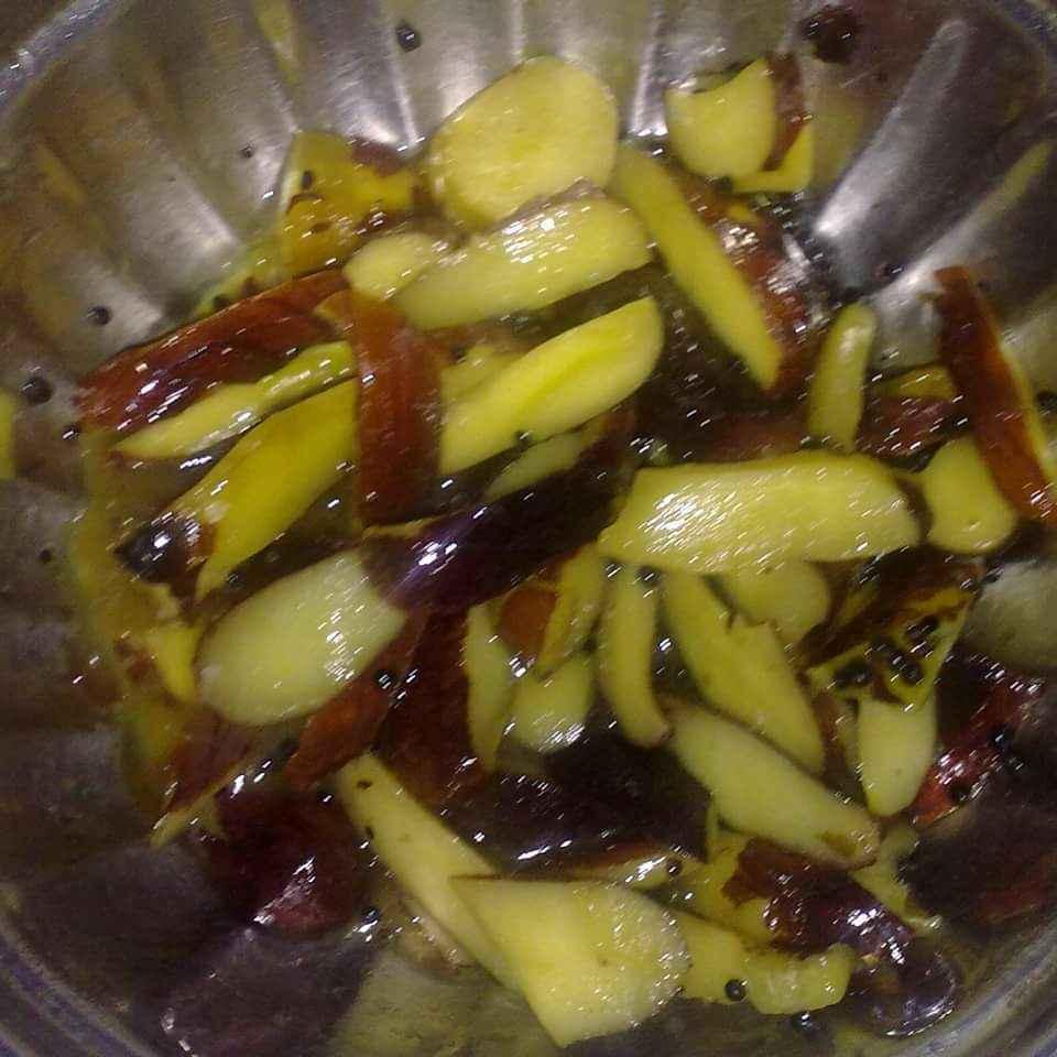 Photo of Bikand ( jackfruit seeds) upkari / sabzi by Amritha Shenoy at BetterButter