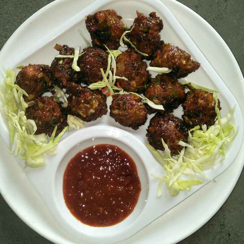 How to make Veg Manchurian Ball's
