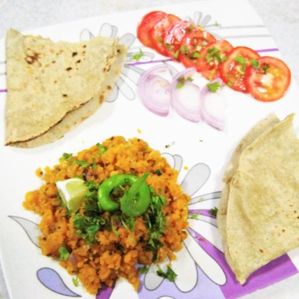 How to make Zunka Bhakar