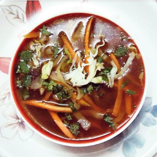 Photo of Hot and Sour Soup by Anagha Doiphode at BetterButter