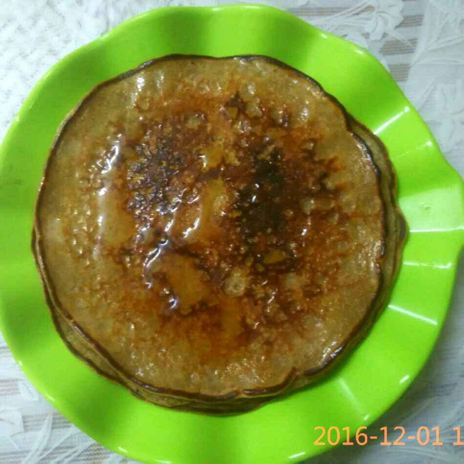 Photo of Wheat Jaggery Pancakes by Anamika Khippal at BetterButter