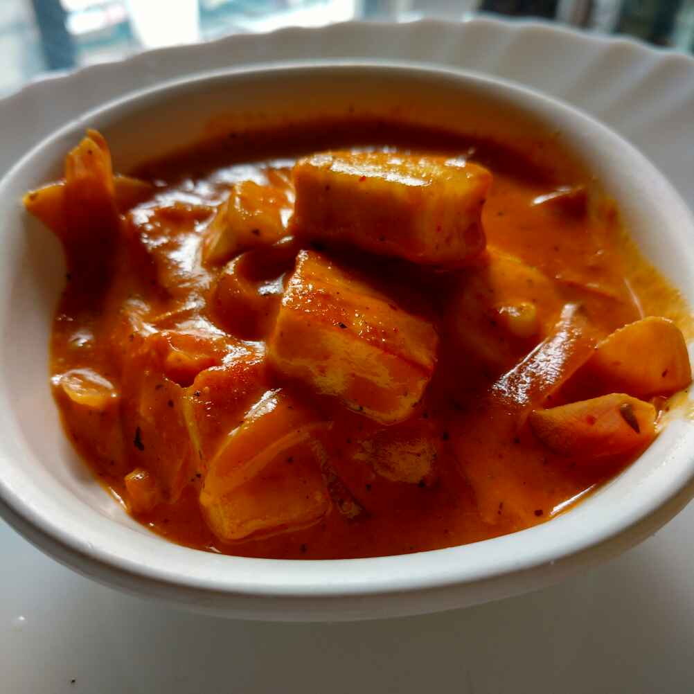 How to make Paneer Curry with Italian Twist