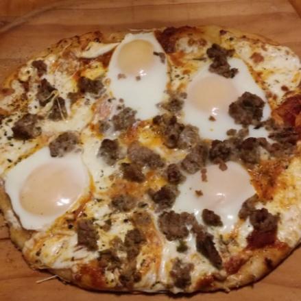 Photo of Breakfast Pizza by Angela Battaglino at BetterButter