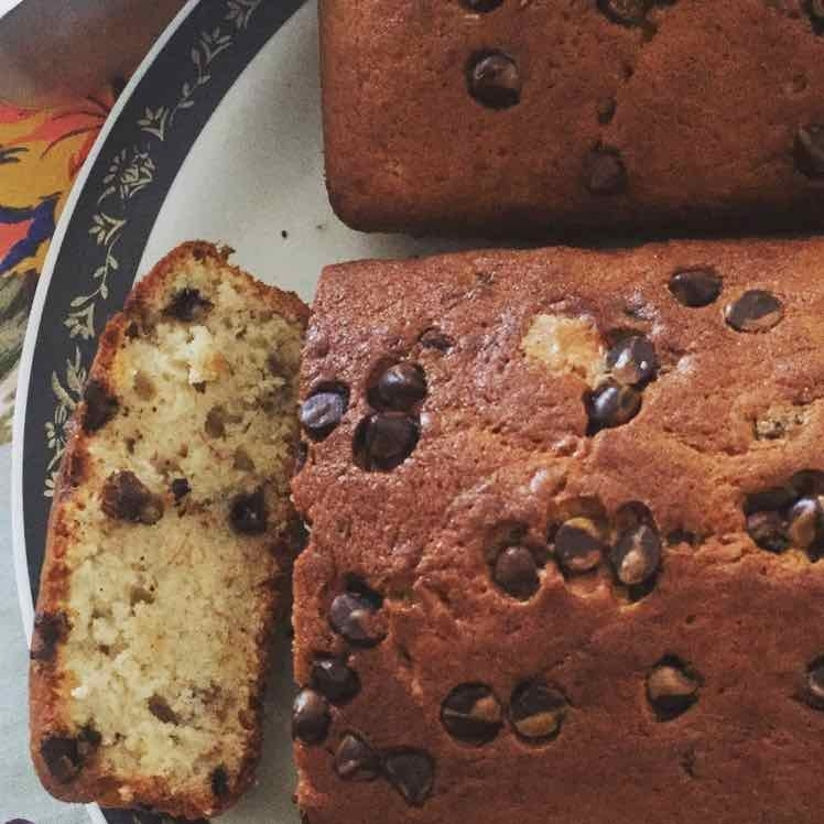 How to make Banana bread with chocolate chips