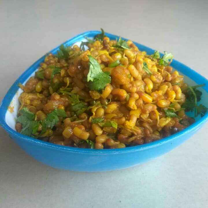 Photo of Sprouted matki fry by Anil Pharande at BetterButter