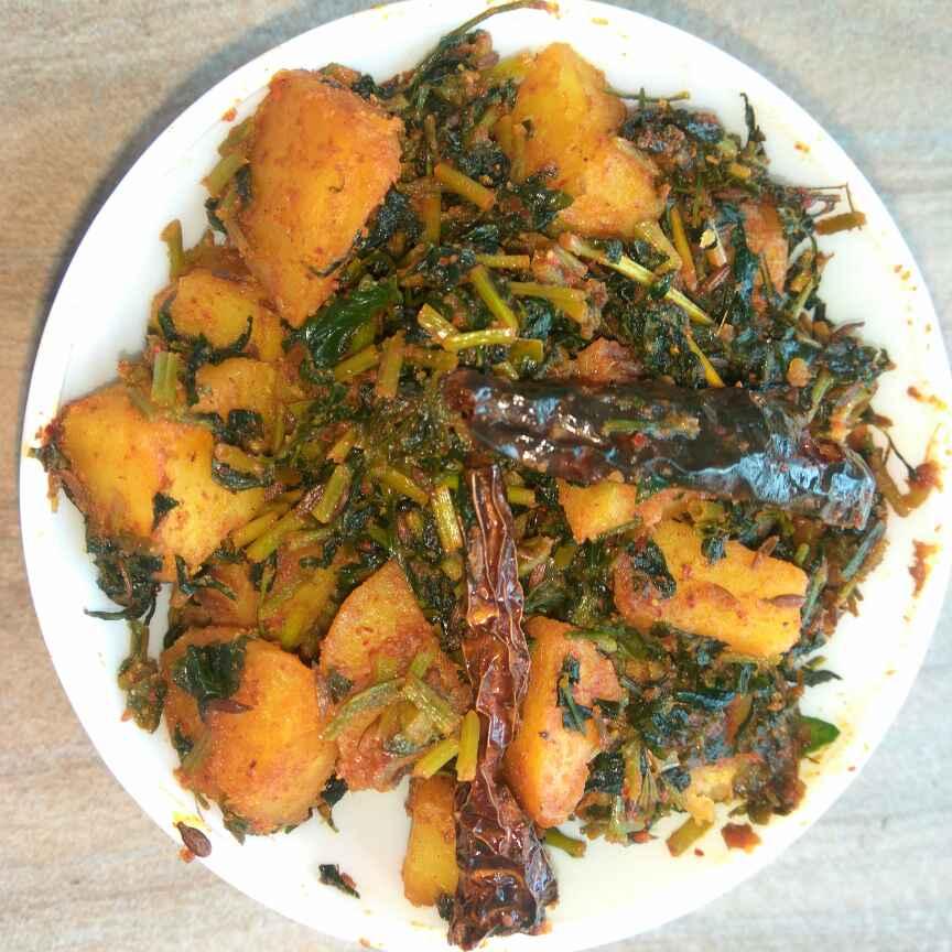 Photo of Tasty Methi Potato Sabzi by Anil Pharande at BetterButter