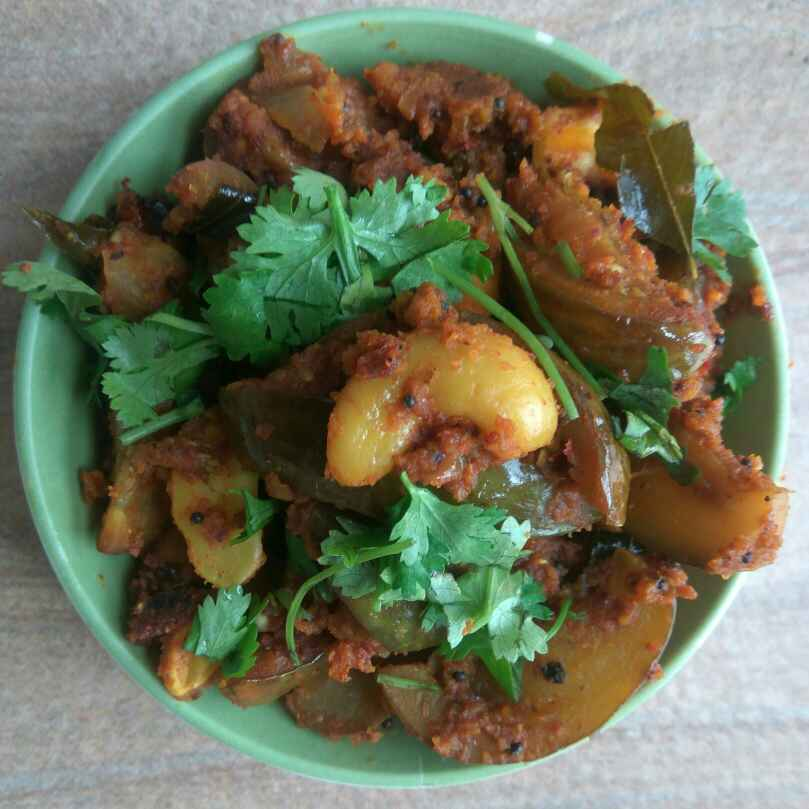 Photo of Brinjal & Cashewnut Fry by Anil Pharande at BetterButter