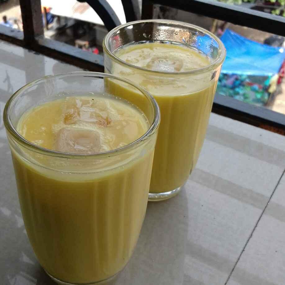 How to make Easy mango shake