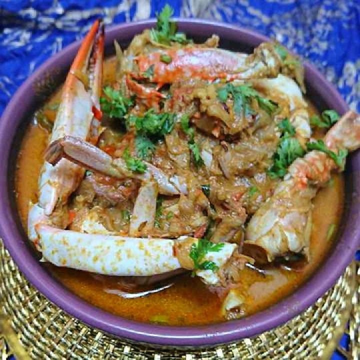 How to make Schezwan crab curry