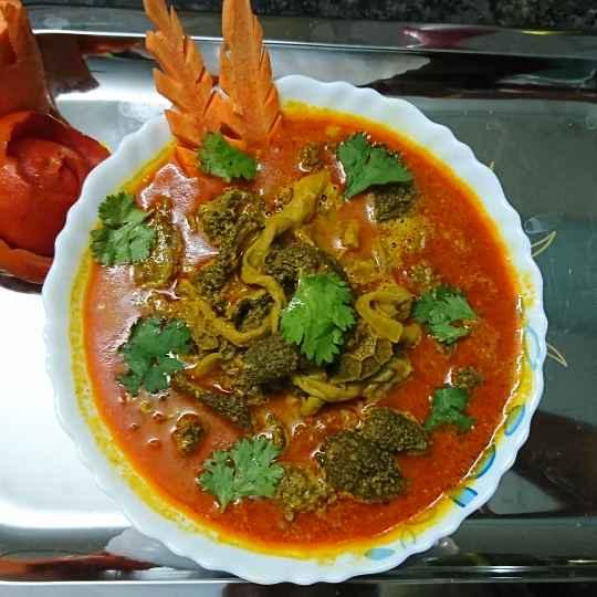 Photo of Village style intestine kulambu by Mughal Kitchen at BetterButter