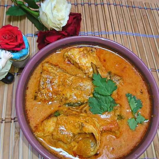 Photo of Garlic fish curry by Mughal Kitchen at BetterButter