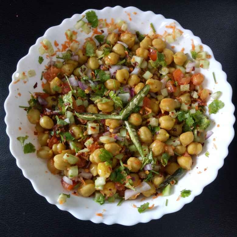 Photo of Chickpea salad by Anita Agarwalla at BetterButter