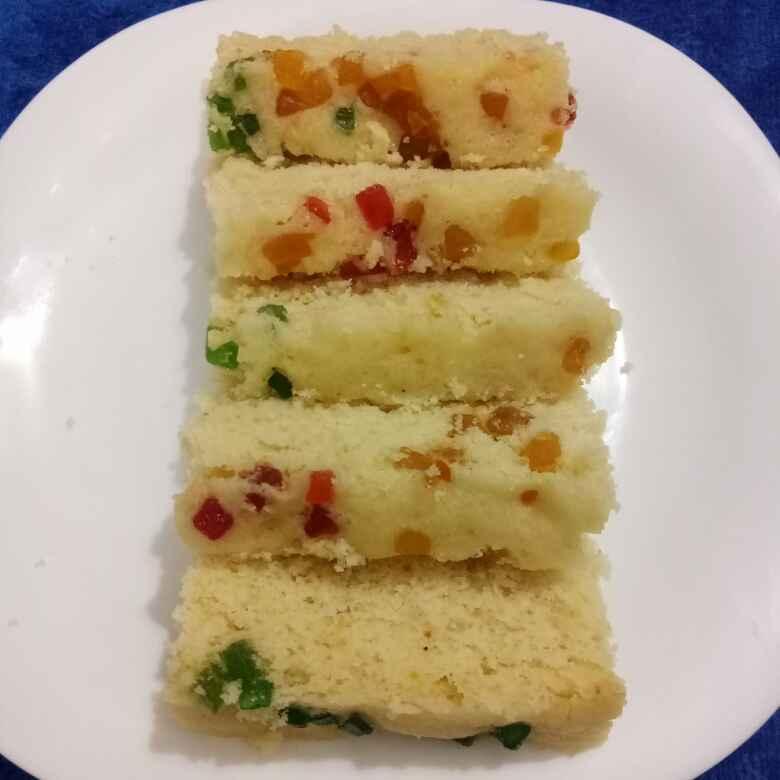 How to make Tutti Frutti Cake(Eggless)