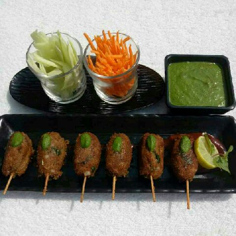 How to make Veg Soya Kabab