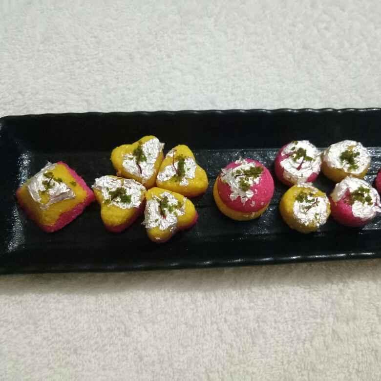 How to make Mini Flavoured Sandesh