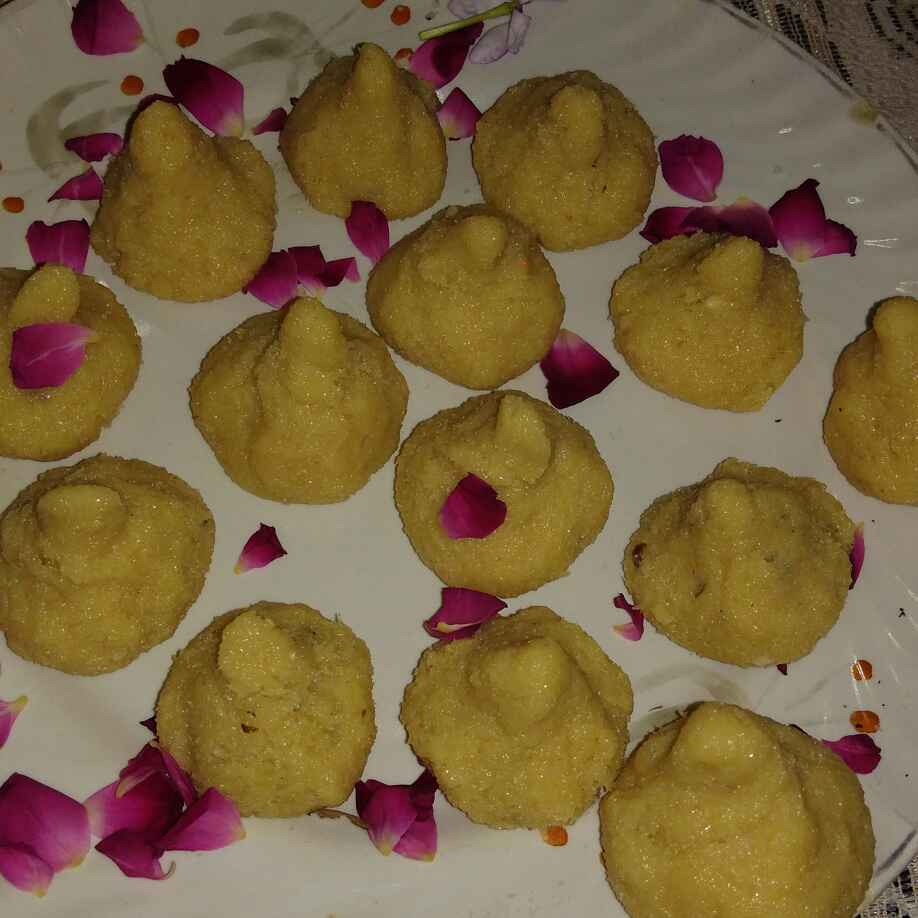 Photo of Mava modak by Anita Anand at BetterButter