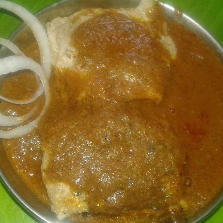 Photo of Vej papad kofta gravy. by Anita Bhawari at BetterButter