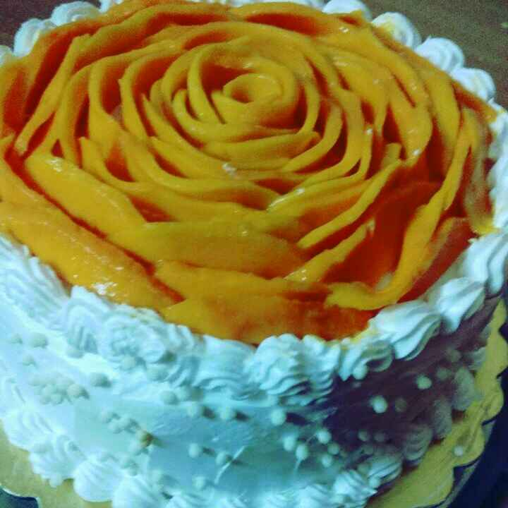 Photo of Mango cake by Anita Bhawari at BetterButter